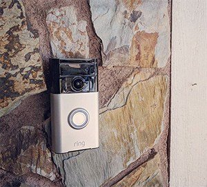 doorbell with wireless front door camera
