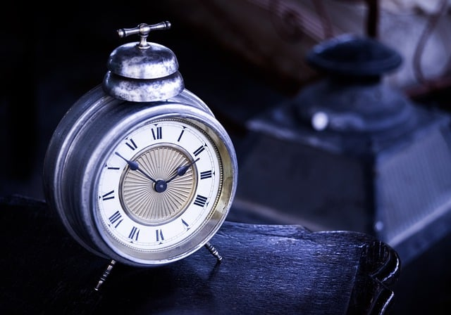 clock to illustrate time passed
