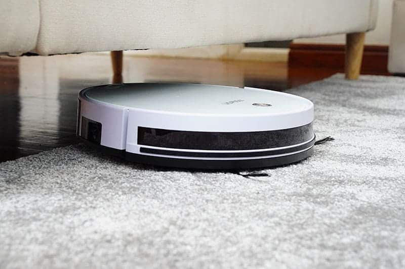 smart vacuum cleaner closeup